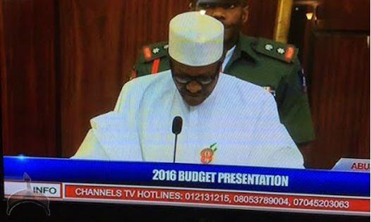buhari 2016 Budget