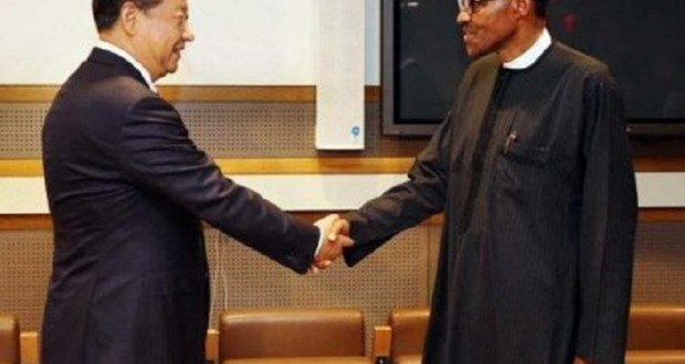 chinese president and buhari