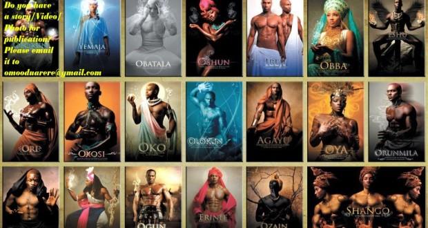 God of the Yorubas irunmoles