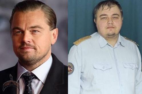 Leonardo DiCaprio- Russian twin Brother