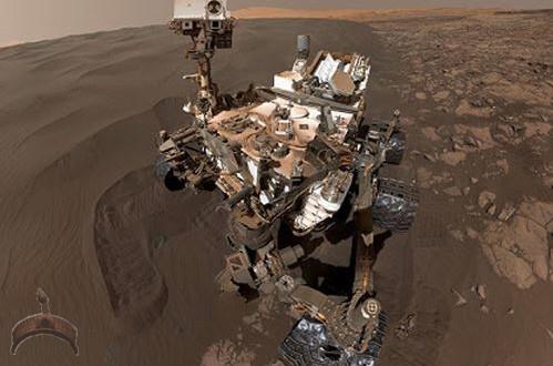 nasa rover-selfie