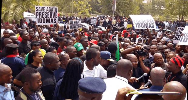 Agatu protest in Abuja