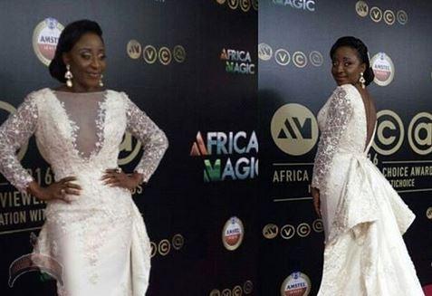 Ini Edo Replies Nigerians Who Hated Her AMVCA Wedding Dress Omo