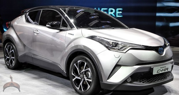 The Toyota C-HR
