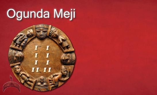 Odu Ifa Ogunda Meji