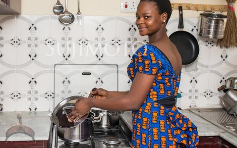 Olajumoke Sujimoto new home