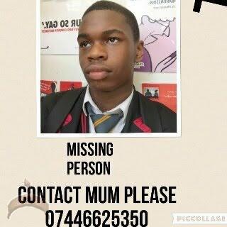 missing in uk