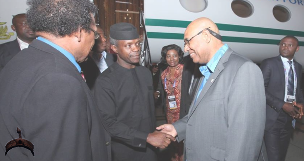 Osinbajo in south guinea