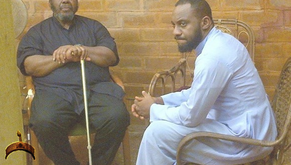 Pete Edochie and son