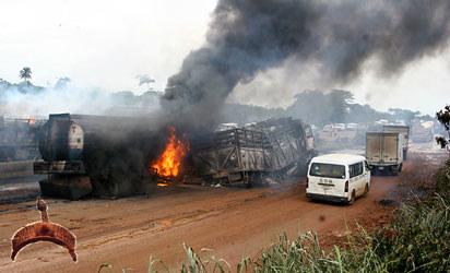 Lagos express fire2