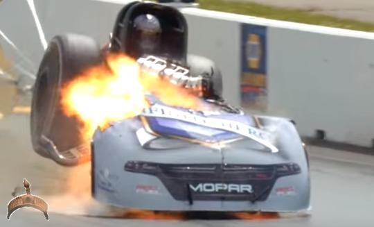 auto on fire