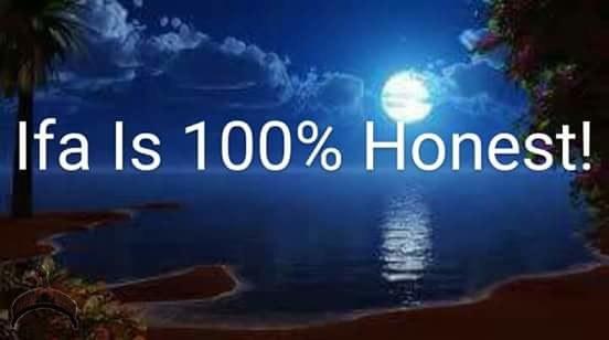 ifa 100 percent honest