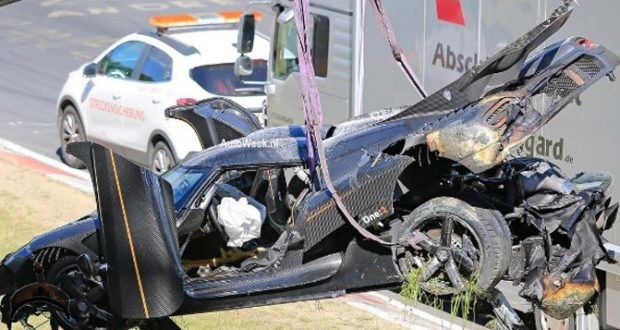 koenigsegg one 1 crash