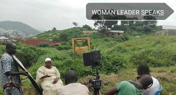 woman leader speak