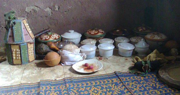 sacred room for Orunmila