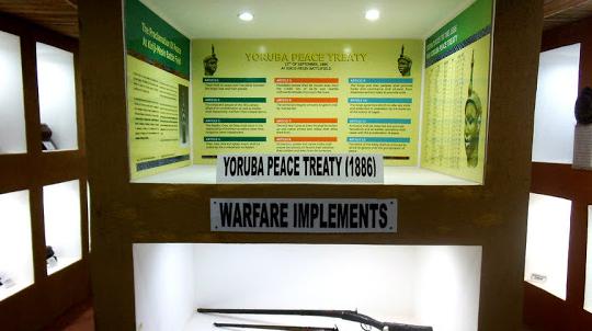 youruba war treaties