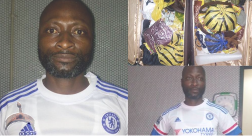 Man Nabbed With ₦31m Worth Of Drugs On His Way To South Africa .