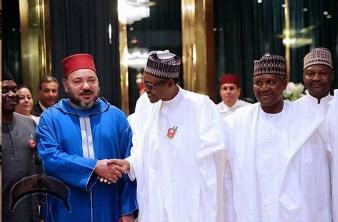 buhari and king of morrocco