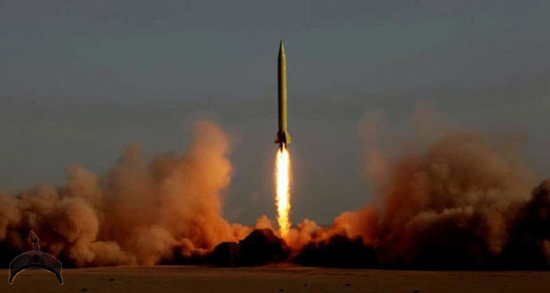 The Ghadr ballistic missile, a modified version of Shahab 3, being launched during an Iranian military drill on June 28, 2011 (Photo: AFP)