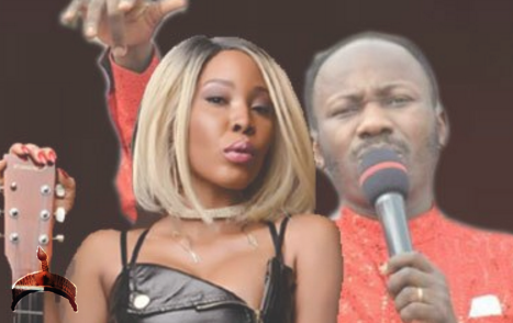 Stephanie Otobo and Apostle Joshua Suleiman