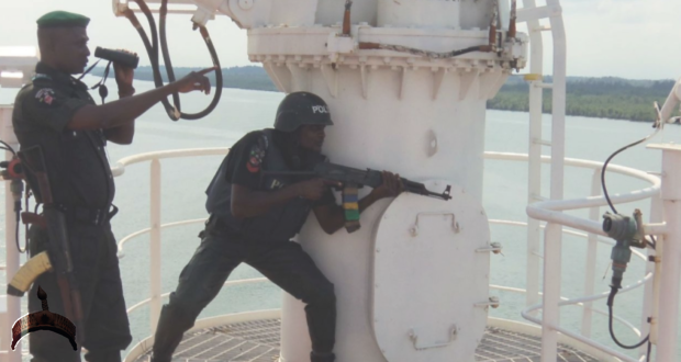 Nigerian Navy Arrests