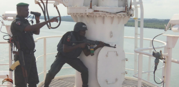 Nigerian Navy Arrests