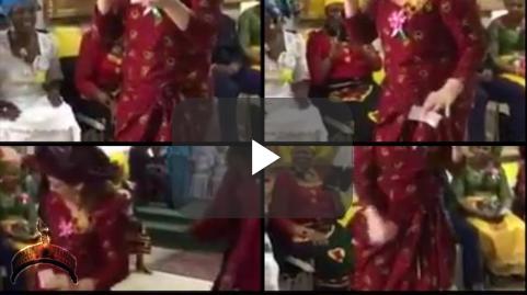 European lady sings Igbo song