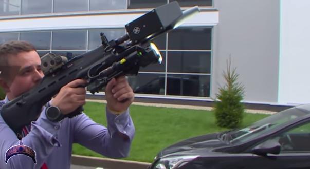 REX 1 anti-drone gun