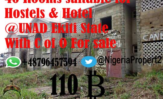 buy hotel- n ondo state