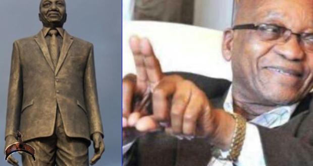 jacob zuma statue