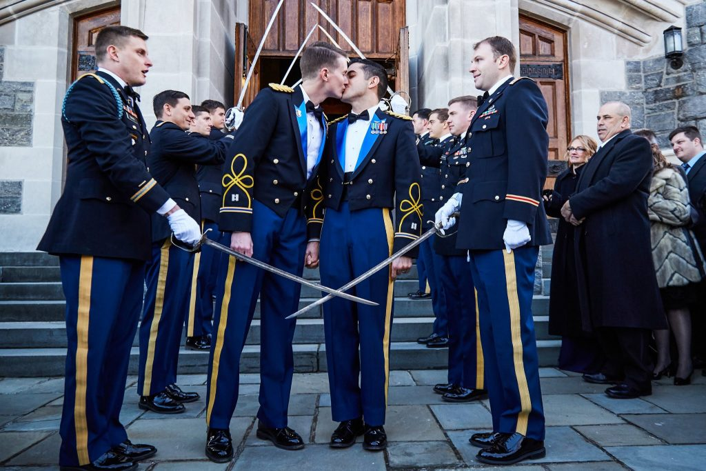 Homosoliders from West Point