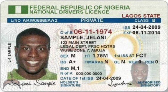 Drivers license nigerian