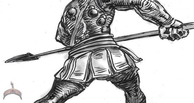 Jagun (Warrior with spear)