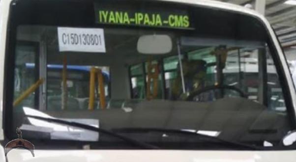 New Lagos Danfo Bus