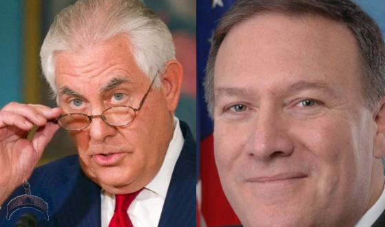 Trump retires Rex Tillerson, Appoints Mike Pompeo As Secretary Of State