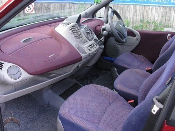 ugly car interior