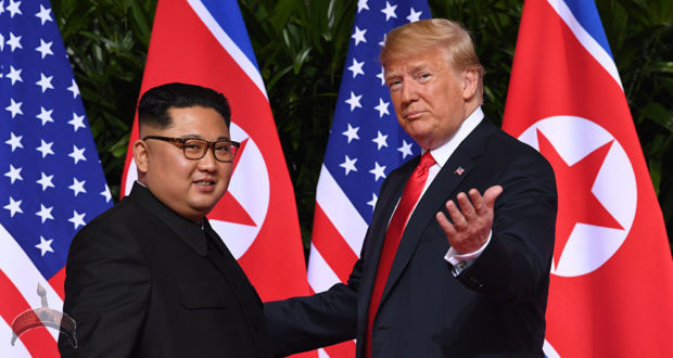 kim and trump Ooduarere