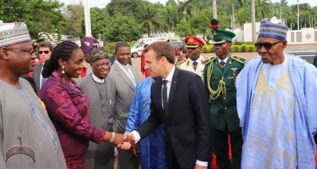 Emmanuel macron in nigeria abuja