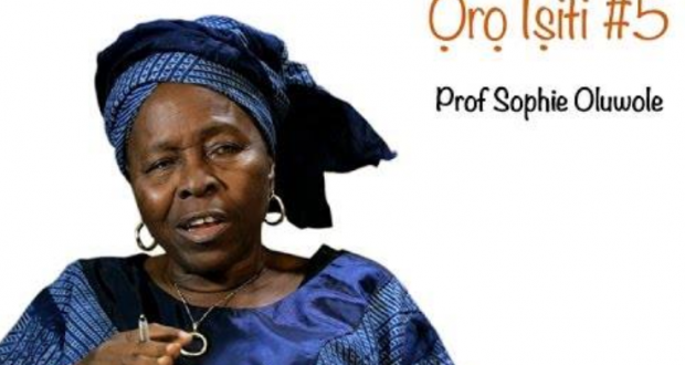 A Legend is gone-Professor Sophie Oluwole passes on at