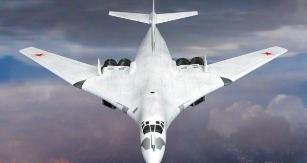 tu 160 heavy supersonic long range bomber