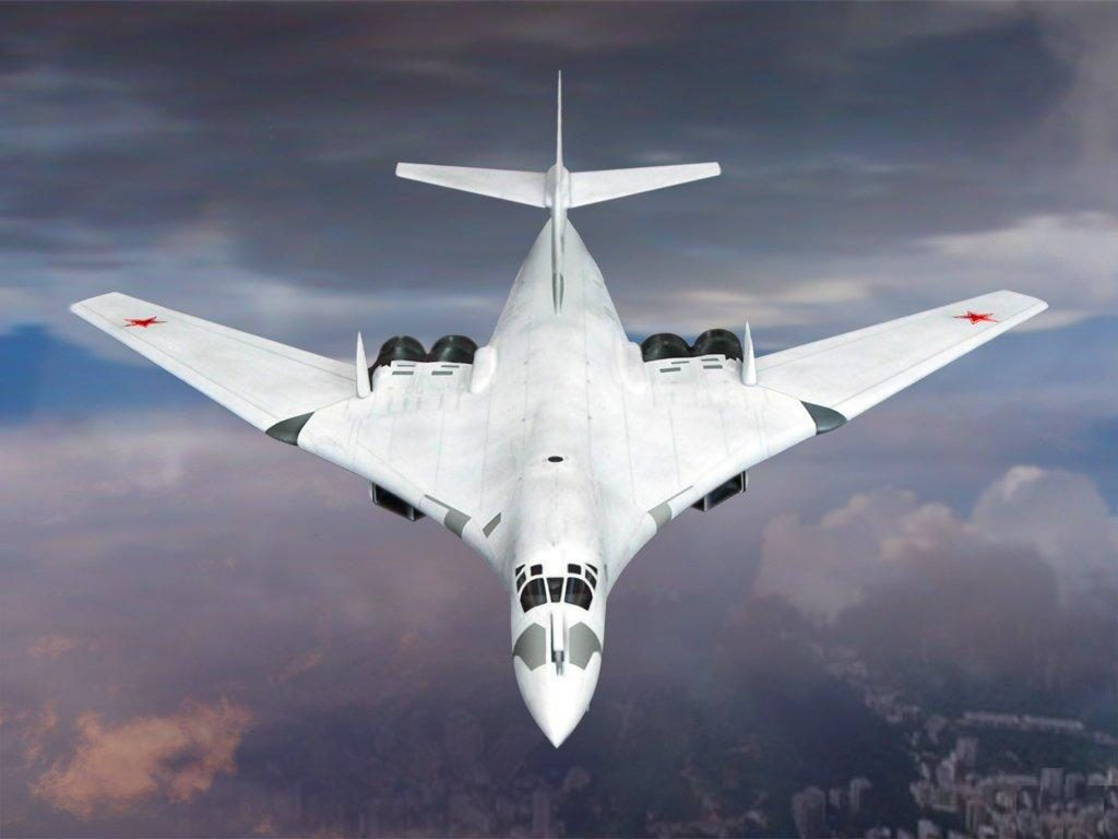 tu 160 heavy supersonic long range bomber