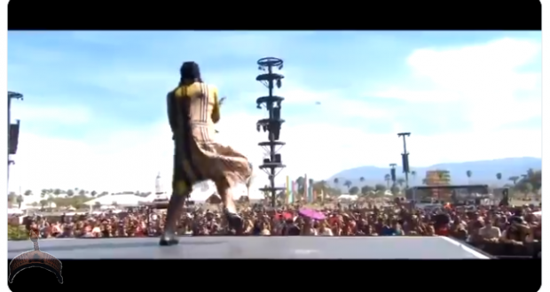 Burna Boy Burns down International Audience At The Singer's First Coachella Debut