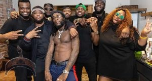 Burna boy and crew