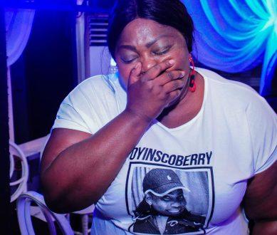 Eniola Badmus cries