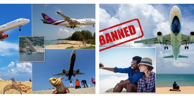 Government Of Thailand Threatens to 'Kill' Tourists Taking Selfies At Phuket Beach Close To The Airport