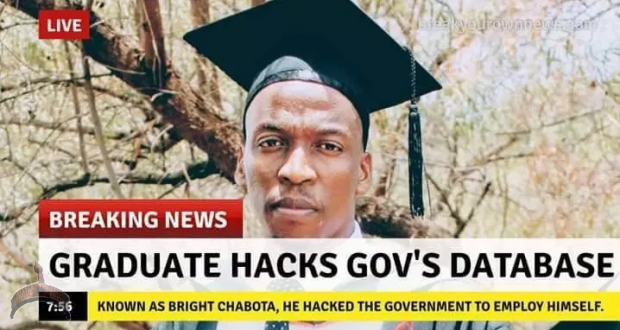 Graduate Who Hacked Government Database and Employed Himself on the Run in South Africa - Photo