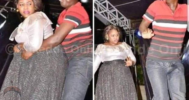 Man releases 'Akamu' While Dancing With Big-Back-sized Lady At Easter Event-PhotosMan releases 'Akamu' While Dancing With Big-Back-sized Lady At Easter Event-Photos