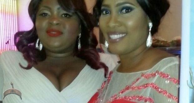 photo of Eniola Badmus and her deceased friend, Oyin Oshikanlu together