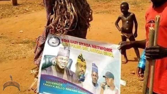 Masquerade Endorses Governor Yahaya Bello Of Kogi State