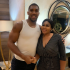 Constance Owoyomi Pictured With Anthony Joshua